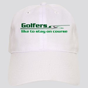 Golfers Stay on Course Cap