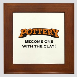 Pottery / Clay Framed Tile