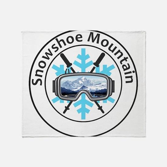 Snowshoe Mountain - Snowshoe - Wes Throw Blanket