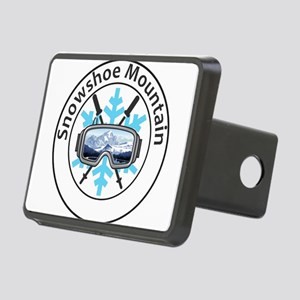 Snowshoe Mountain - Snow Rectangular Hitch Cover