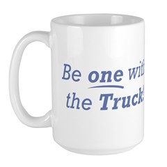 One with the Truck Large Mug