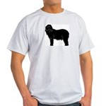 Bearded Collie Silhouette Light T-Shirt
