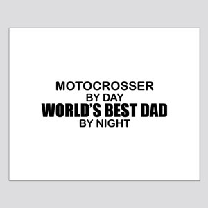 World's Greatest Dad - Mottocross Small Poster
