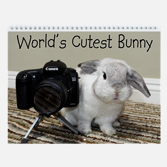 World's Cutest Bunny Wall Calendar