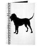 Bloodhound Silhouette Journal