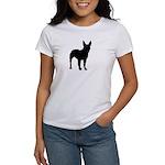 Bullterrier Silhouette Women's T-Shirt