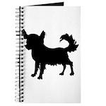 Chihuahua Silhouette Journal