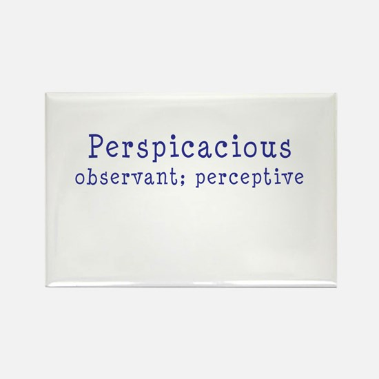 Perspicacious Rectangle Magnet