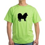 Chow Chow Green T-Shirt