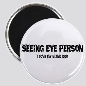 Seeing Eye Person Magnet