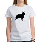 Collie Silhouette Women's T-Shirt