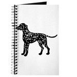 Dalmation Silhouette Journal