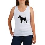 Fox Terrier Silhouette Women's Tank Top