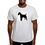 Fox Terrier Silhouette Light T-Shirt