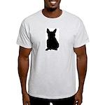 French Bulldog Silhouette Light T-Shirt
