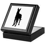 Great Dane Silhouette Keepsake Box
