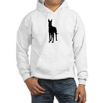 Great Dane Silhouette Hooded Sweatshirt