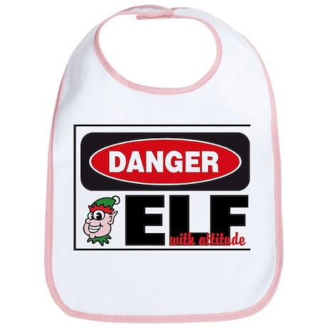Elf with Attitude Bib