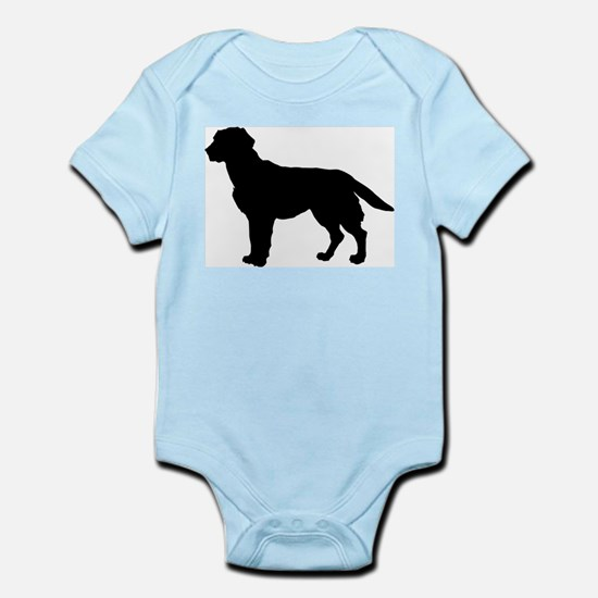 Labrador Retriever Silhouette Infant Bodysuit