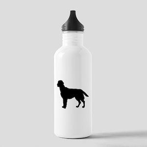 Labrador Retriever Silhouette Stainless Water Bott