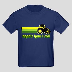 Tractor Rollin' Kids Dark T-Shirt