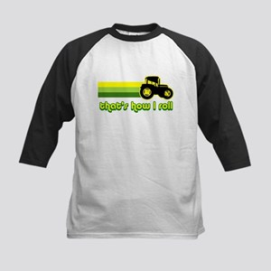 Tractor Rollin' Kids Baseball Jersey