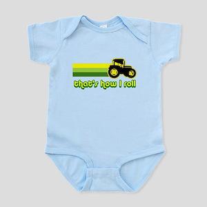 Tractor Rollin' Infant Bodysuit