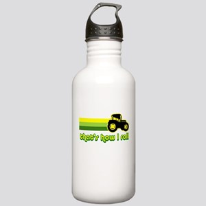 Tractor Rollin' Stainless Water Bottle 1.0L
