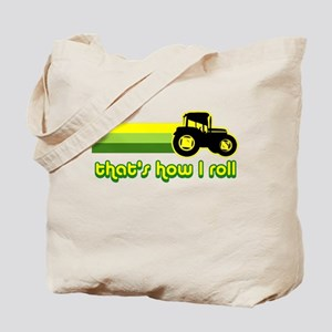 Tractor Rollin' Tote Bag