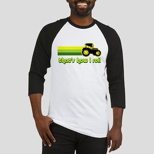 Tractor Rollin' Baseball Jersey