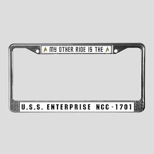Star Trek Licence Plate Frame