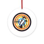 South Coast - Panama Ornament (Round)