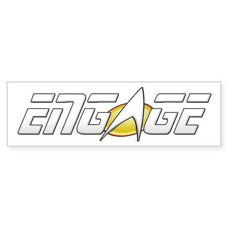 ENGAGE: Star Trek Sticker (Bumper)