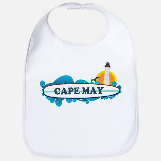 Cape May NJ - Surf Design Bib