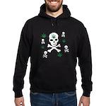 Pot Skull Hoodie (dark)