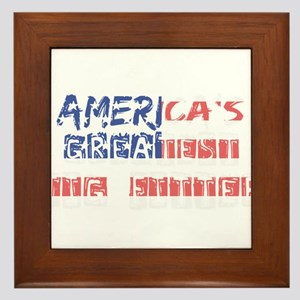 America's Greatest Jig Fitter Framed Tile