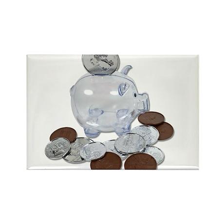 Big Savings Bank Rectangle Magnet