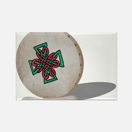 Bodhran Drum Rectangle Magnet