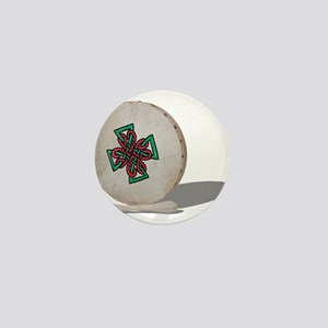 Bodhran Drum Mini Button