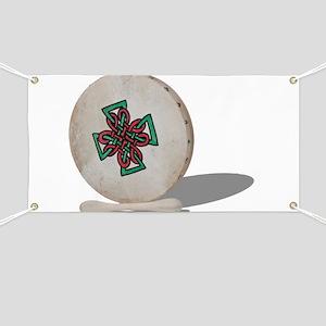 Bodhran Drum Banner