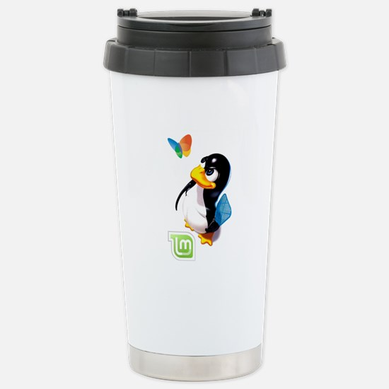 Tux Swat-Mint Stainless Steel Travel Mug
