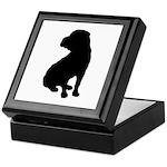 Shar Pei Silhouette Keepsake Box