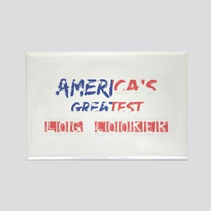 America's Greatest Log Cooker Magnets