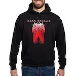 King Tribal Hoodie (dark)