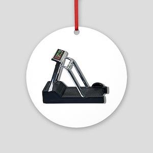 Exercise Treadmill Ornament (Round)