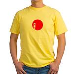OTAKU Yellow T-Shirt
