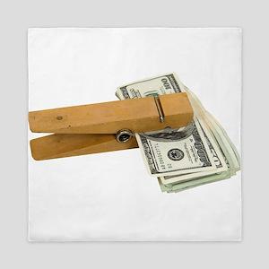 MoneyReminder080209 Queen Duvet