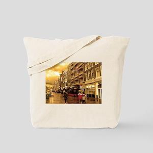 Hotel Row -- Amsterdam Tote Bag