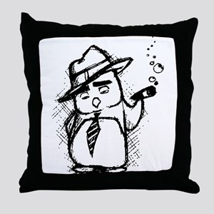 Al Capenguin Throw Pillow