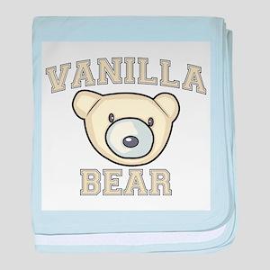 Vanilla Bear Infant Blanket